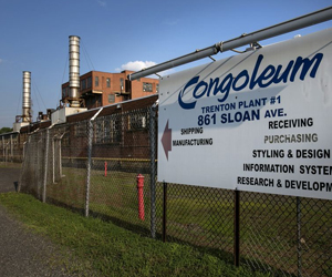 Developer buys 65-acre site of former Congoleum factory