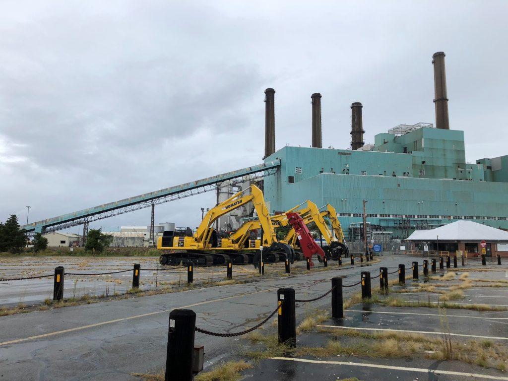 Demolition Underway at Retired Brayton Point Power Station