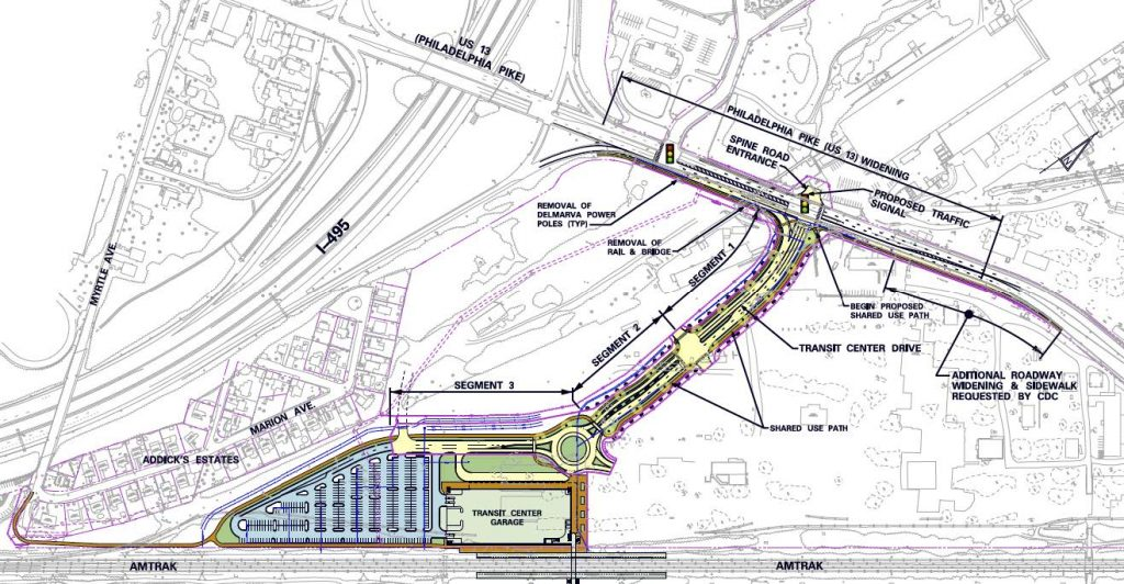 CDC Transfers 15 Acres of Former Steel Mill Site to Delaware for New $54 Million Train Station