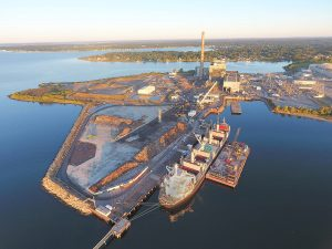 Brayton Point Commerce Center Receives First Cargo Shipment to New Marine Commerce Terminal